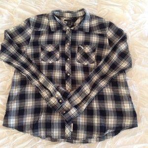 Navy Blue Button Down Shirt